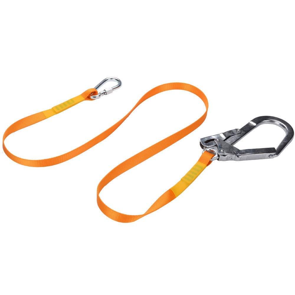 Vfdsvbdv Outdoor Aerial Work Harness Safety Harness Industrial Safety Harness Hook Construction Protection Hook (Color : Orange)