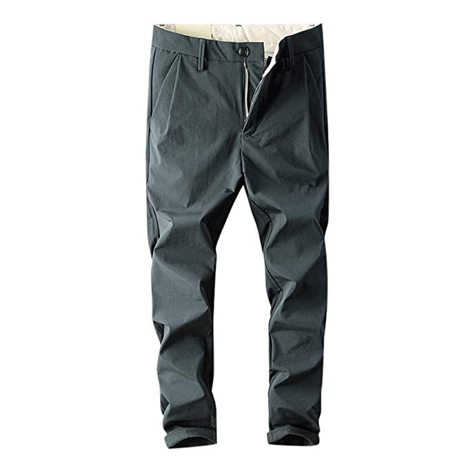 Sylar Pantalones Largos para Hombre Pantalones De Pierna Delgada ...