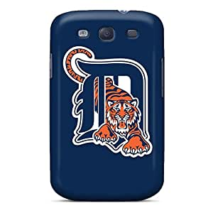 Cometomecovers Galaxy S3 Hybrid Cases Covers Bumper Baseball Detroit Tigers