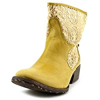 Groove Women's Daisy Boot, Natural, 7 M US