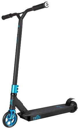 esQu Freestyle - Patinete eléctrico (24 V), 7024, Negro y ...