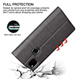 FUNMAX+ for Google Pixel 4a Case, PU Leather Wallet