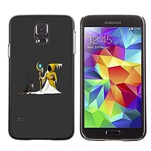 Be Good Phone Accessory // Dura Cáscara cubierta Protectora Caso Carcasa Funda de Protección para Samsung Galaxy S5 SM-G900 // The Yellow Wizard