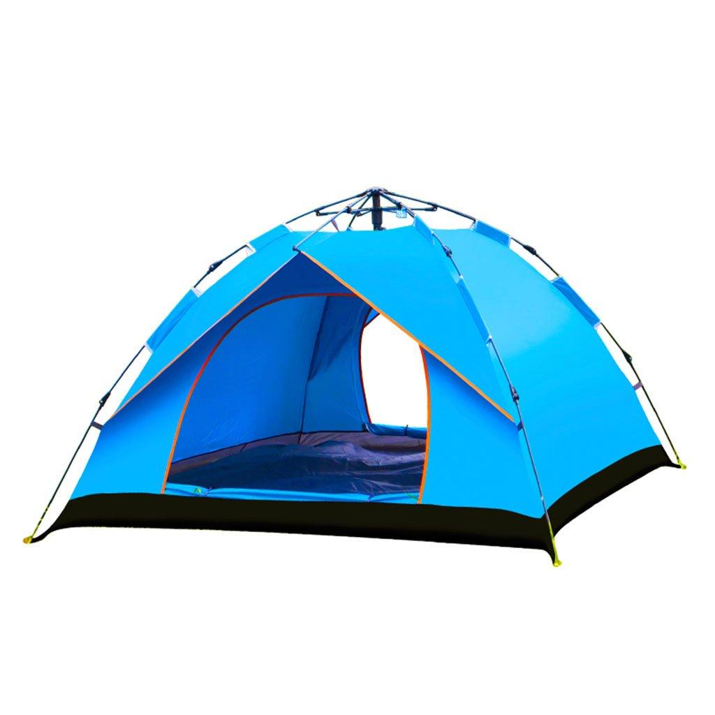 テント、自動屋外2人3-4人厚い防雨フィールド屋外キャンプ ( 色 : 1 , サイズ さいず : 1 )   B07CNMG4JL