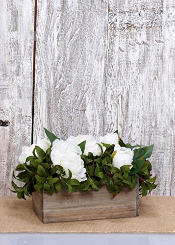 Richland Planter Box Wood 10''x 5'' Set of 6 by Richland