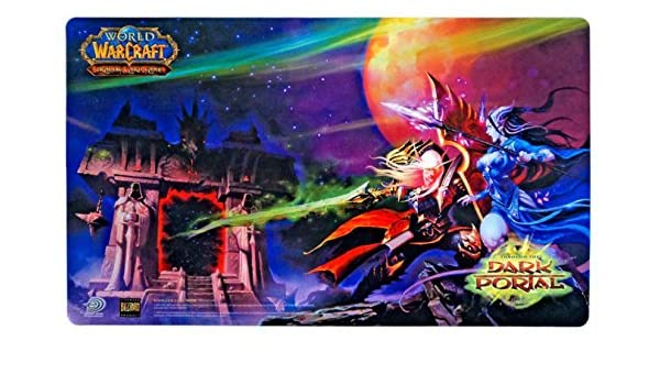 World of Warcraft Playmat: Dark Portal [Toy]: Amazon.es: Juguetes y juegos
