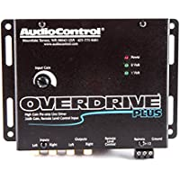 AudioControl Overdrive Plus Black Two Channel High-Gain Active Line Driver
