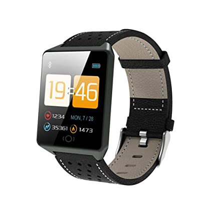 Amazon.com: CK19 Smartwatch IP67 Waterproof Wearable Device ...
