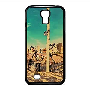 Bike On The Beach Watercolor style Cover Samsung Galaxy S4 I9500 Case