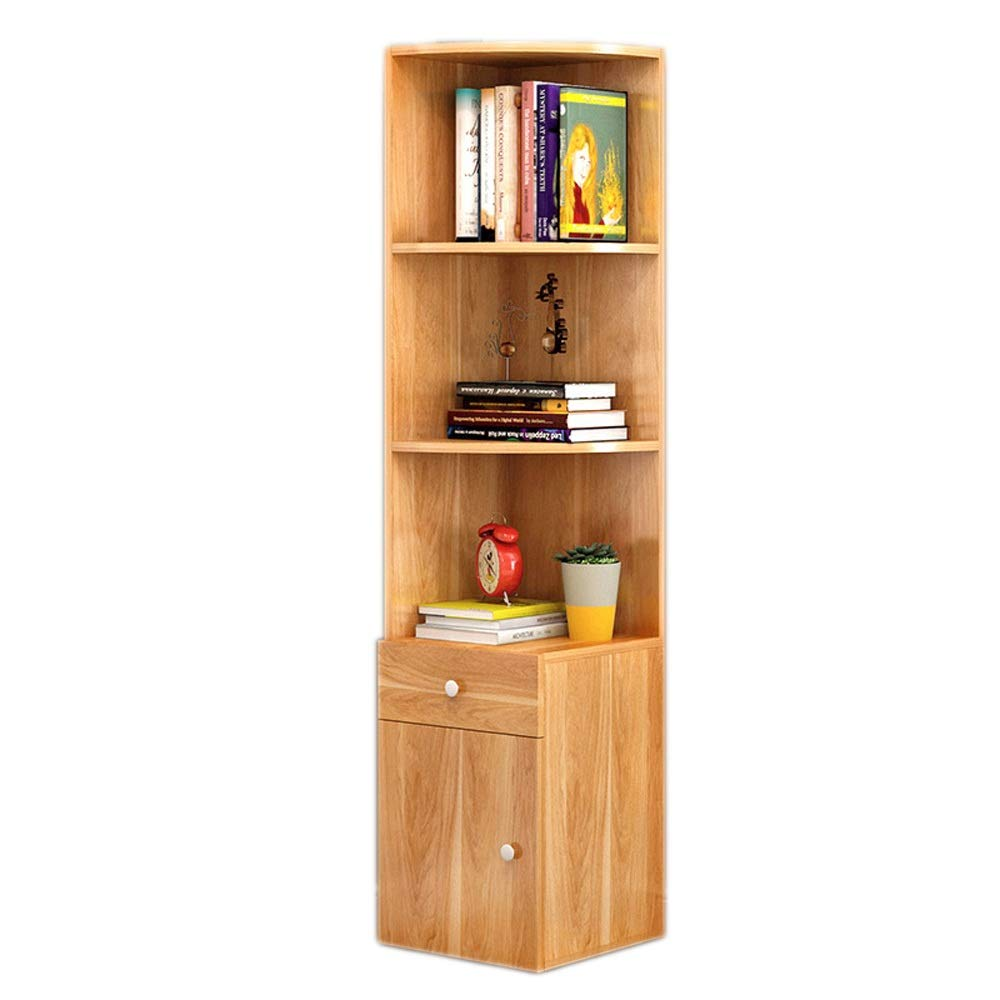 rot Leaf Maple 3030138cm Bücherregal aus Holz Offenes Bücherregal-Organisator-Möbel für Wohnzimmer, Büro - rotes Blatt-Ahorn Regalständer zur Aufbewahrung von Holzregalen (Farbe   rot Leaf Maple, Größe   30  30