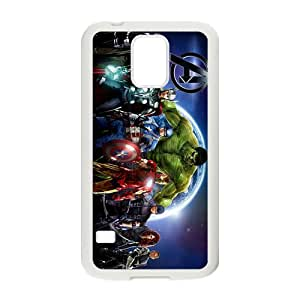 US Super Heros Black Samsung Galaxy S5 case