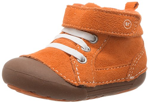 Stride Rite Baby Soft Motion Danny Ankle Boot, Orange, 5 Medium US Toddler