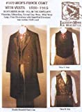 Patterns - Laughing Moon #109, Men's Frock Coat with Vests 1850-1915