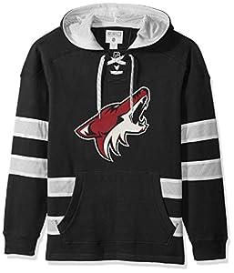 NHL Arizona Coyotes Ccm Pullover Jersey Hood, Black, X-Large