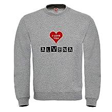 Sweatshirt Alvena - Print Your Name