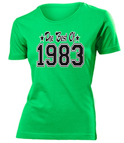 THE BEST OF 1983 - DELUXE - Birthday mujer camiseta Tamaño S to XXL varios colores Verde