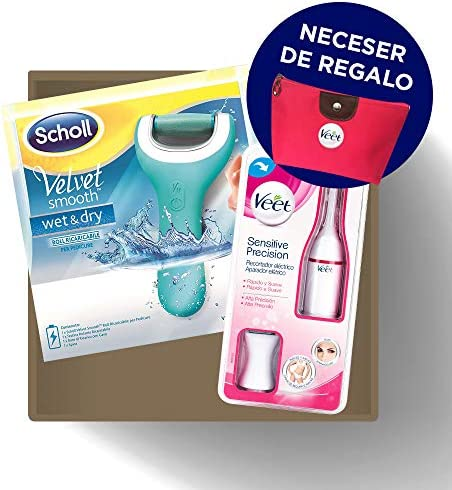 Pack Scholl Lima Wet & Dry para Durezas Pies + Veet Sensitive ...