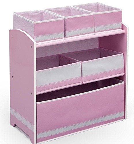 Delta Regal Kindermöbel Kinderregal Spielzeugkiste Box Aufbewahrung Pink 84600GN Spielwaren Klee