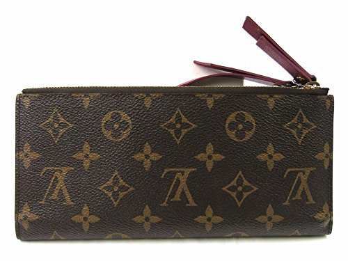 Lv Monogram Canvas Adele Wallet Fuchsia Article: M61269 Made in France
