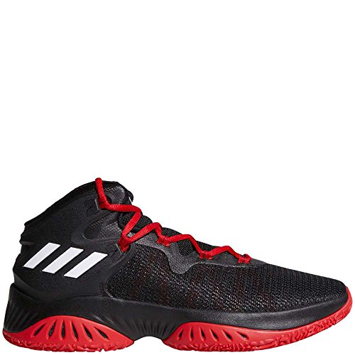 adidas Performance Men's Shoes | Explosive Bounce Basketball Black/White/Scarlet (11 M US)