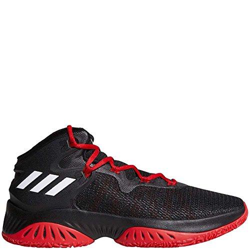 adidas Performance Men's Shoes | Explosive Bounce Basketball Black/White/Scarlet (11 M US)