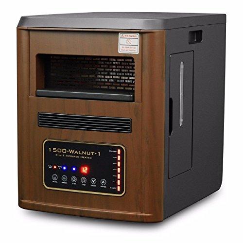 watt quartz infrared heater humidifier