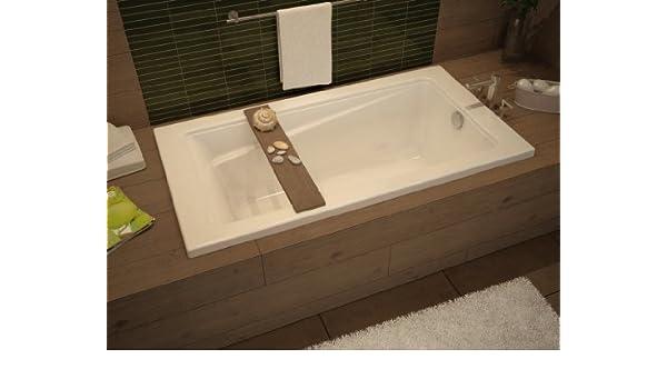 Maax 105513-000-001-000 White Professional Exhibit 6032 Soaking Tub ...