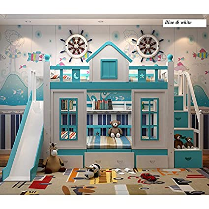 Amazon.com: WLNS 0128TB006 Modern children bedroom furniture ...