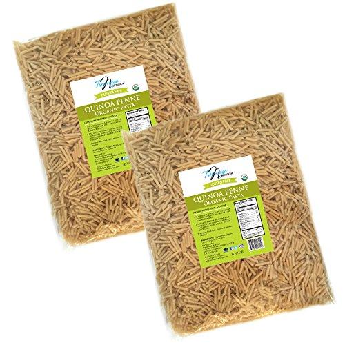 Tresomega Nutrition Organic Quinoa Pasta, Penne, 5 Pound (Pack of 2)