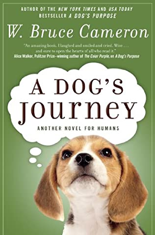book cover of A Dog\'s Journey