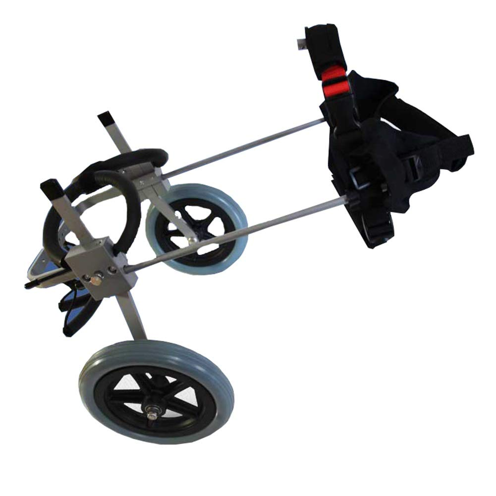 LJFYMX Dog wheelchair Adjust dog wheelchair dog hind leg repair bracket pet rehabilitation training car Pet supplies dog scooter