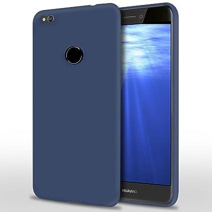 Funda Huawei P8 Lite 2017, SpiritSun Soft Carcasa Funda Diseño Mate Opaco Ultrafina TPU Bumper para Huawei P8 Lite 2017 (5.2 pulgadas) Suave Silicona ...