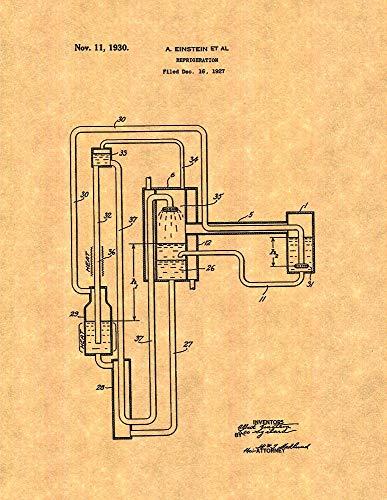 Einstein Refrigeration Patent Print (11