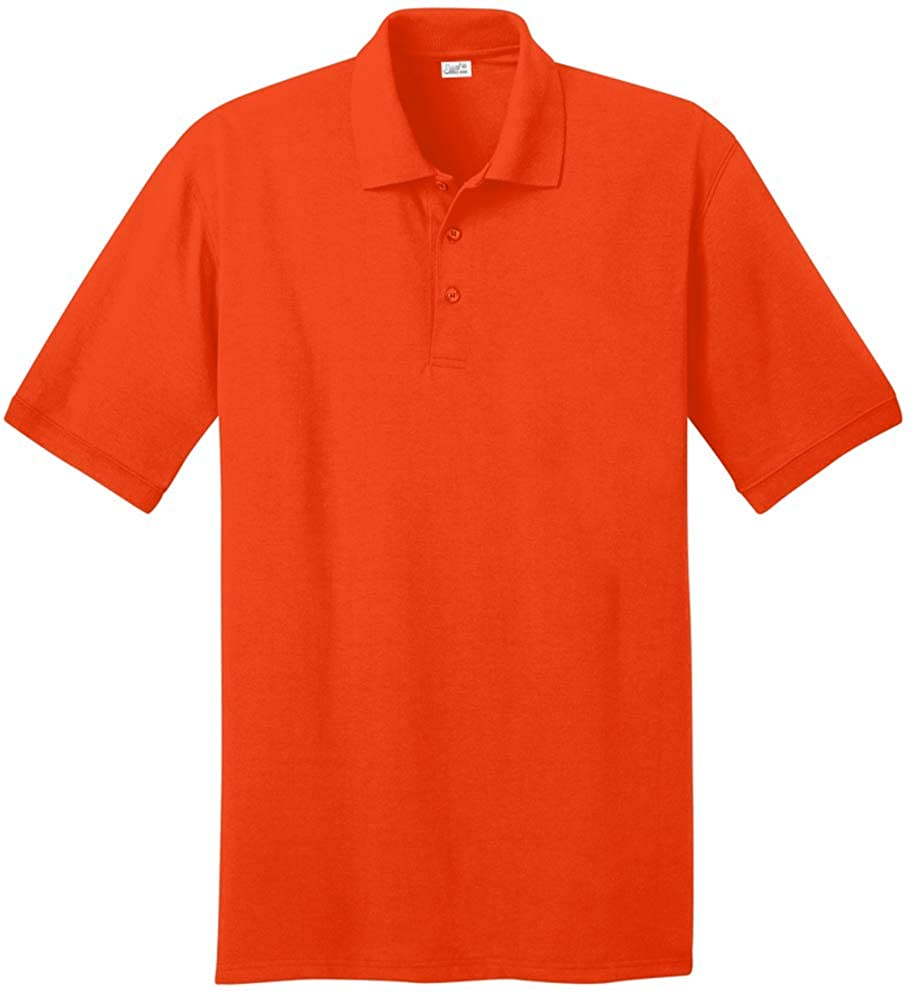 04b1d70f Joe's USA Men's Tall Polo Shirt in 21 Colors. Tall Sizes: LT-4XLT at Amazon  Men's Clothing store: