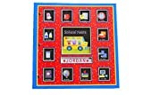 School Years Personalized 24 Pocketful of Memories Book Album:Off to School Dena Designs