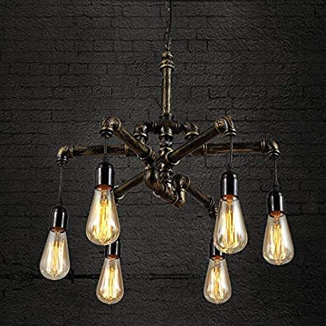 Ruanpu lumières rétro suspensions lampe Abat jour