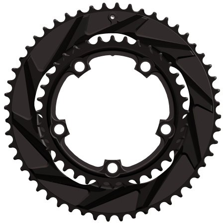 WickWerks 52/36t 110 BCD Compact Road Chainrings