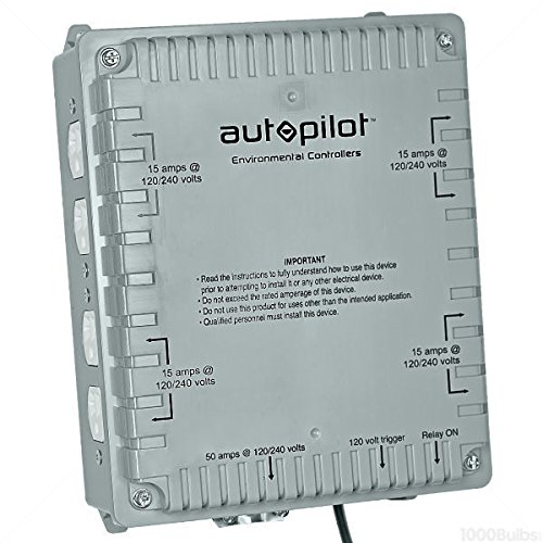AutoPilot Hydrofarm 8000W High Power HID Master Lighting Controller | APCL8DX by Autopilot