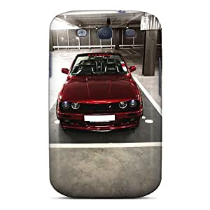 Excellent Design Badboy Bonnet Calypso Red Bmw E30 Par Phone Case For Galaxy S3 Premium Tpu Case by mcsharks