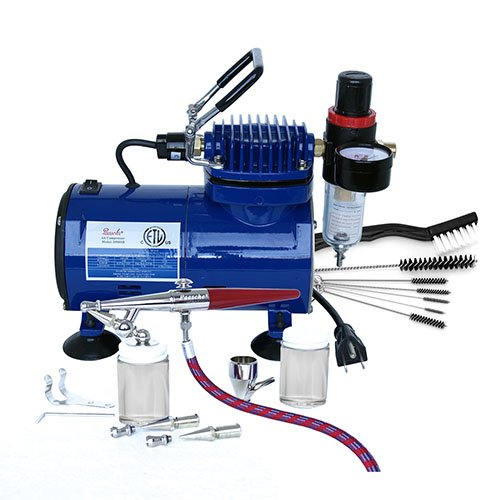 Paasche H-100D Single Action Airbrush & Compressor Package Review