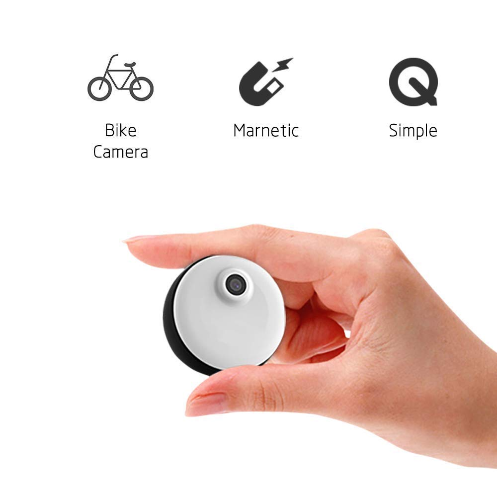 C-Xka Cámara usable de la cámara de la bici de la cámara usable, mini cámara portátil de la cámara de 1080P 720P HD, grabación del lazo de la memoria de 8GB ...