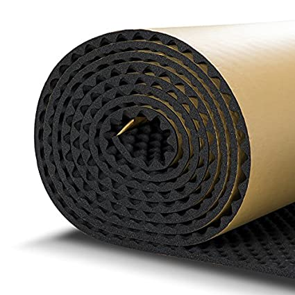 SOOMJ 10mm/394mil Cell Foam Sound Proofing Insulation Deadener Mat (15.7'x39.4' Cell Foam) CHINA SOOMJ-UXY014CF-0410