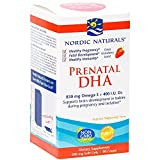 Nordic Naturals - Prenatal DHA, Supports Brain Development in Babies During Pregnancy and Lactation, Strawberry, 90 Soft Gels (FFP)
