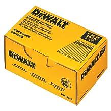 DEWALT DCA16250 2-1/2-Inch by 16 Gauge 20-Degree Finish Nail, 2,500 per Box