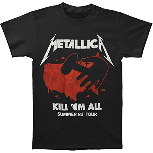 Men's Metallica Kill Em All Summer 83 Tour T-Shirt - S to XL
