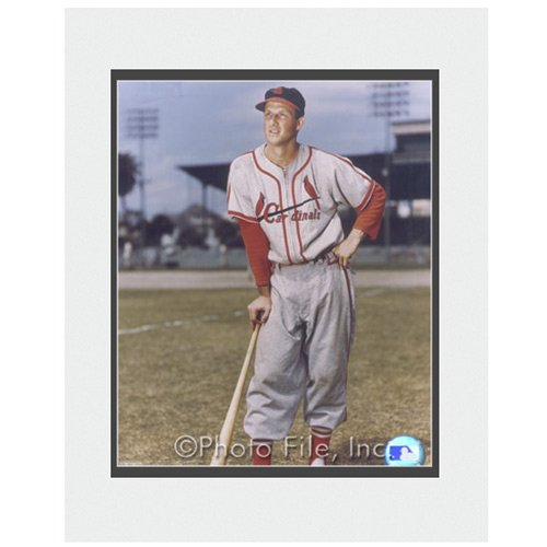 Photo File St. Louis Cardinals Stan Musi - Photograph Featuring Mlb Player Shopping Results