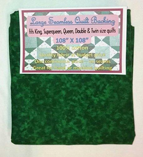 Quilt Backing, Large, Seamless, C44395-605, Dark Green