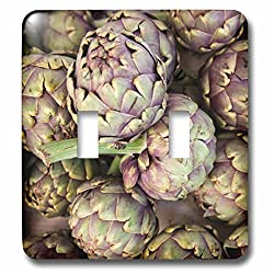 Danita Delimont - France - Artichokes at the Bergerac open air market in the spring. - Light Switch Covers - double toggle switch (lsp_227316_2)