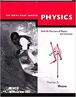 Book Six Ideas That Shaped Physics: Unit N : The Laws of Physics Are Universal by Thomas A. Moore (1997-12-03)