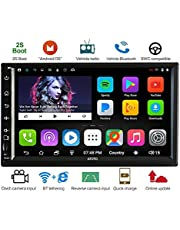 ATOTO 2 din A6 Android Car Audio/Video Navigation con doppio Bluetooth e ricarica rapida -Premium A6Y2721P 2G/32G Radio multimediale per auto, WiFi/BT Tethering Internet, supporto 256G SD